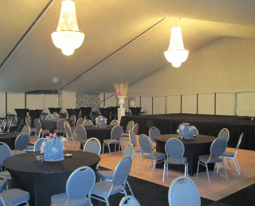 Bruilofttent luxe tent